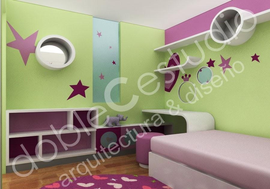 Decoracion de dormitorios juveniles deco ideas - Dormitorios juveniles chicas ...