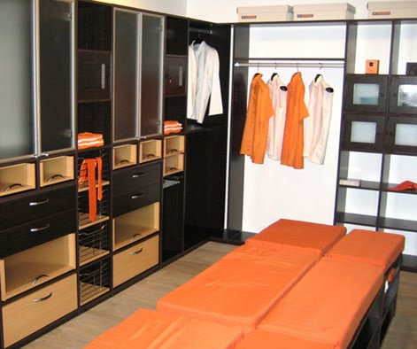 Modelos de closets walk in closet home design architectur for Walking closet modernos pequenos