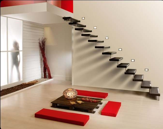 Escaleras para interiores diseno de interiores for Diseno de interiores temario