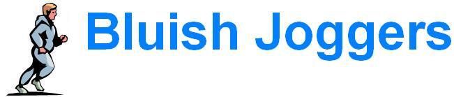 Bluish Joggers