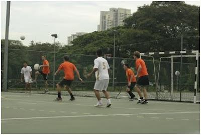 nus futsal frenzy 2010
