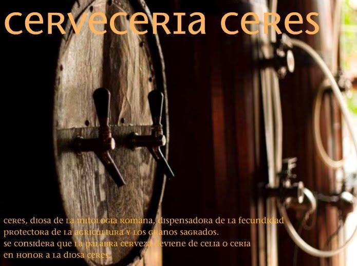 Cervecería artesanal Ceres, cerveza artesanal Ceres, Ceres, cerveza artesanal, cerveza