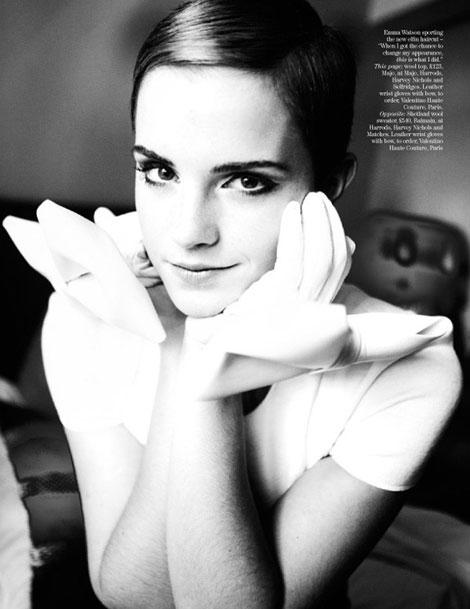 emma watson vogue italia. Emma Watson for Vogue UK