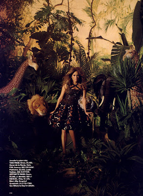 Jennifer Lopez in Bazaar