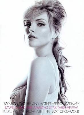 Sophie Dahl looking beautiful