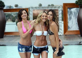 More Alessandra Ambrosio, Miranda Kerr and Candice Swanepoel Bikini Pictures