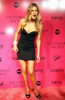 Doutzen Kroes at the Victorias Secret Fashion Show after party