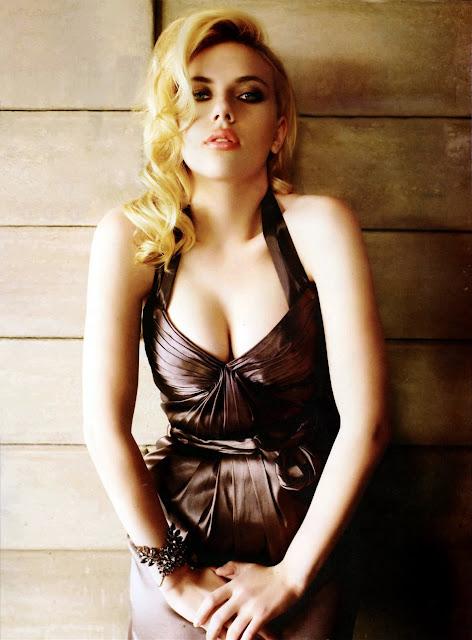 Scarlett Johansson is absolutely yummy