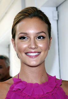 Leighton Meester is gorgeous in pink