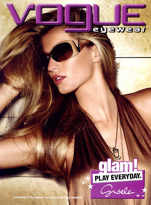 Gisele Bundchen in Vogue Eyewear