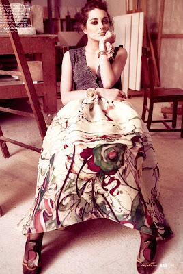 Marion Cotillard in Elle