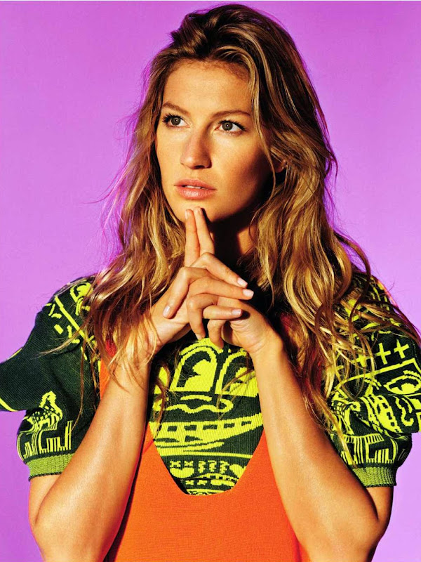 The lovely Gisele Bundchen
