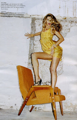 Gisele Bundchen strikes a pose