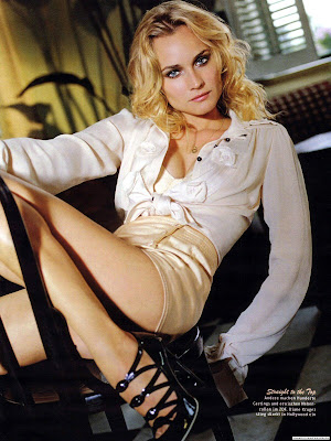 Sexy Model and Actress Diane Kruger