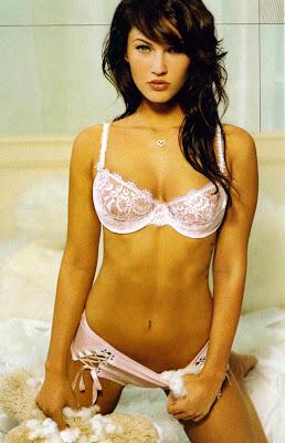 Megan Fox in Lingerie
