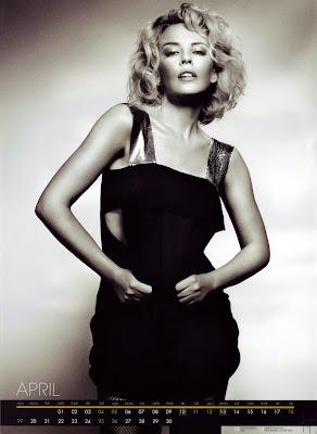 Kylie Minogue 2009 Calendar