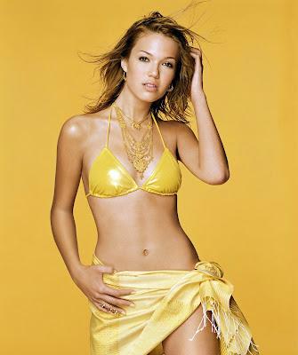 Mandy Moore in a bikini