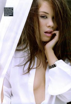 Roxanne McKee in Maxim