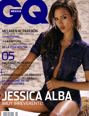 Jessica Alba in GQ