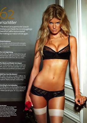 Great lingerie pics of Marisa Miller