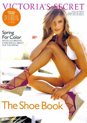 Alessandra Ambrosio in Victorias Secret
