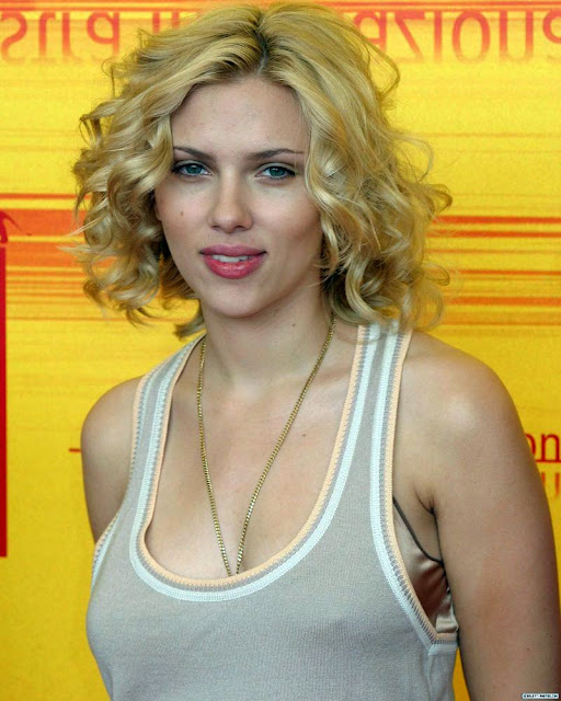 Scarlett Johansson is gorgeous