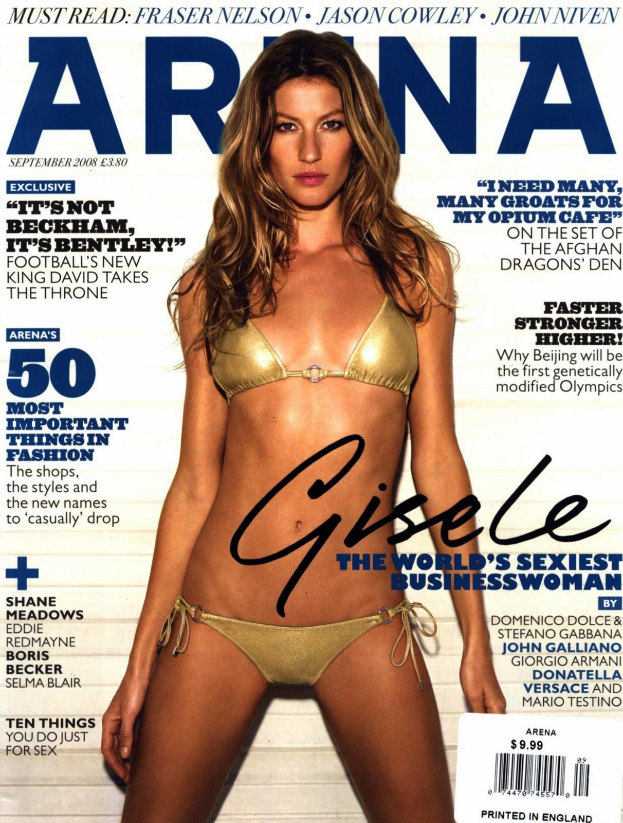 Gisele Bundchen in Arena