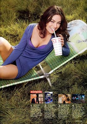 Mila Kunis in Complex