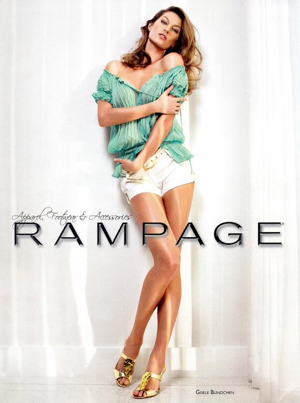 Gisele Bundchen for Rampage