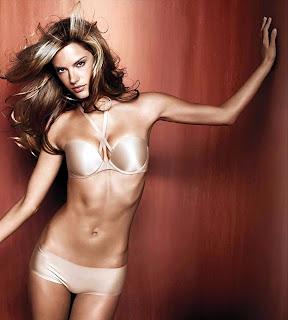Alessandra Ambrosio in Victorias Secret Lingerie