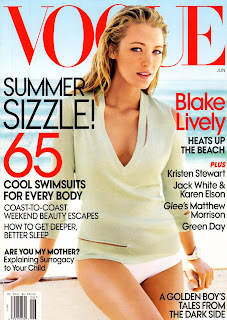Blake Lively looked gorgeous in Vogue