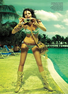Jessiann Gravel Beland is incredibly sexy in a bikini
