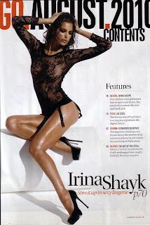 Irina Shayk is ultra sexy in SA GQ