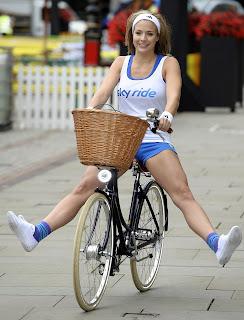 Gemma Atkinson in sexy shorts