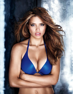 Adriana Lima in a bra is awesomely sexy