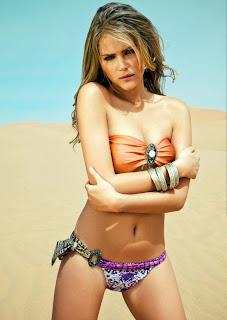 Esti Ginzberg sizzles in a bikini