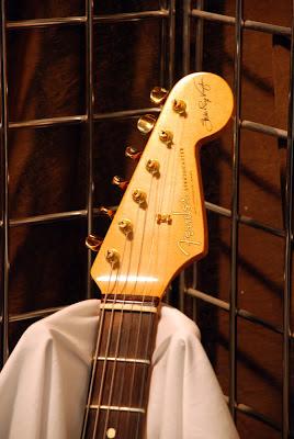 SRV Stratocaster Headstock