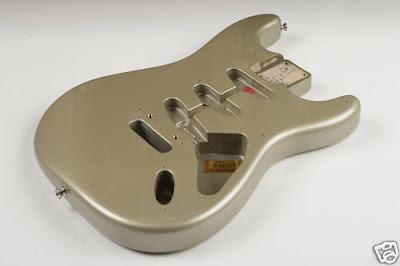 Fender 57 RI Classic Shoreline Gold Strat Body
