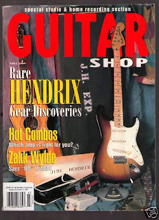 Guitar Shop Magazine May '98 Jonny Lang