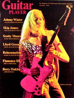 August '74 Johnny Winter GP Cover