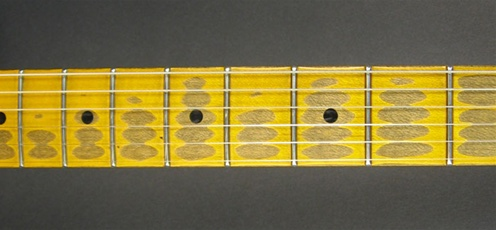 nash s 57 two tone burst friday 165 stratocaster guitar nash guitars aged neck