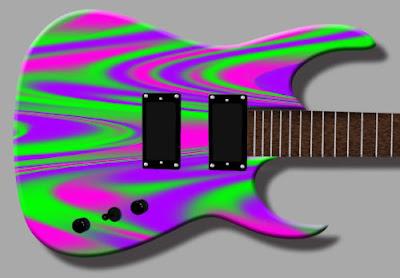 Swirl Guitar Skin