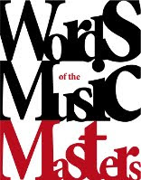 Words of the Music Masters book