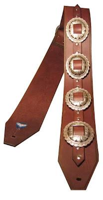 Handmade Concho Guitar Strap