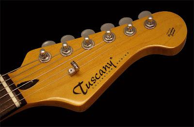 Tuscany Guitars Headstock