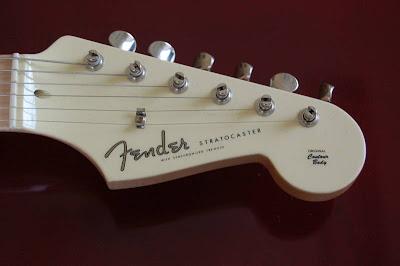 John English White Stratocaster