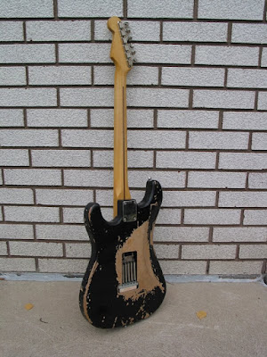 Lashing Guitars Blackie Reproduction
