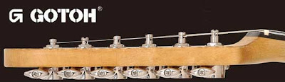 Gotoh staggered locking tuners