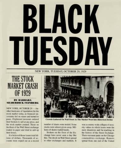 black tuesday journal28 YOU AINT SEEN NOTHING YET PART TWO