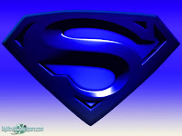 Superman Blue Logo Wallpaper 1024x7